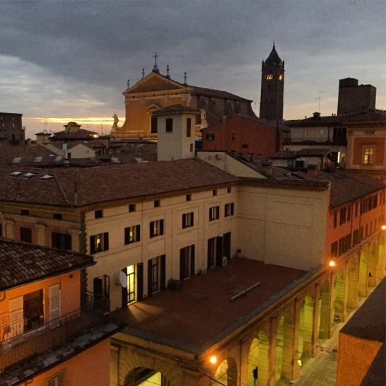 Bologna at night