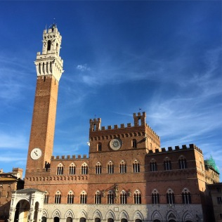 A stunning afternoon in the Piazza del Campo