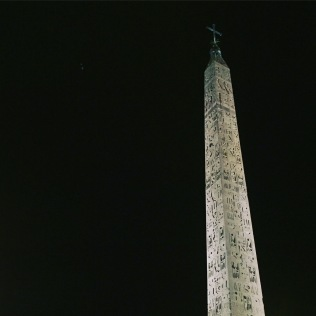 Obelisk in the Piazza del Popolo
