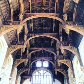 The roof of the Great Hall