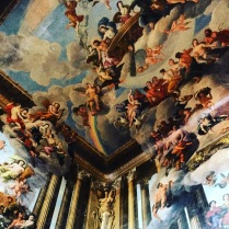 Stunning wall and ceiling painting