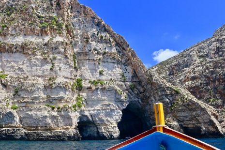 Heading to the Blue Grotto